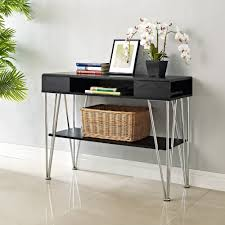 long narrow console table popular skinny console table with