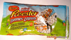 reese s easter bunny candy addict easter candy review reese s mini reester bunnies
