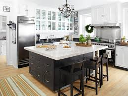 kitchen with large island large kitchen island with seating cool chandelier stainless steel
