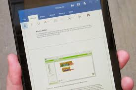 word for android on with office for android tablets polished and ready for