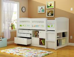 Kids Beds For Girls Twin Bunk Beds With Drawers Amazing Natural Home Design