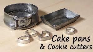 halloween cookie tins miniature kitchen utensils cookie cutters baking tin