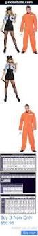 Orange Prison Jumpsuit Halloween Costume Prisoner Halloween Costumes Adults Halloween Costumes