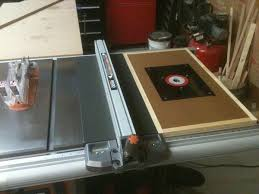 Ridgid Router Table Table Saw Router Extension Woodworking Talk Woodworkers Forum