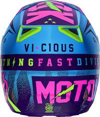 youth motocross helmets fox racing vicious se gear product spotlight motocross mtb
