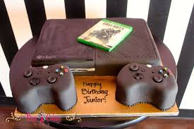 birthday cake boy 1 tier xbox call of duty controllers game edible