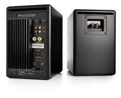 Bookshelf Powered Speakers Audioengine A5 Premium Powered Bookshelf Speakers Bamboo