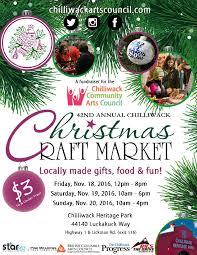 42nd annual chilliwack christmas craft market chilliwack