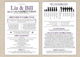 wedding program printable emejing wedding program templates ideas styles ideas