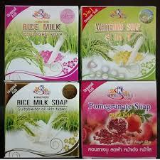 Sabun So X sabun beras rice milk collagen soap 11street malaysia bath