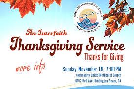 interfaith thanksgiving service slide community united methodist