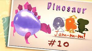 dinosaur balloon crafts for kids jurassic world youtube