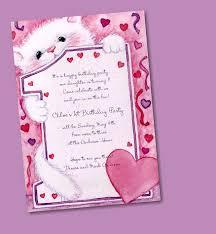 Design An Invitation Card Templates Sample Birthday Invitation