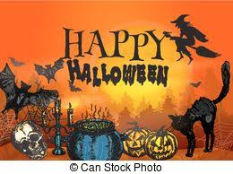 767 Best Halloween Or Gothic by Drawings Of Horror Scene Gothic Scene With Spooky Building And