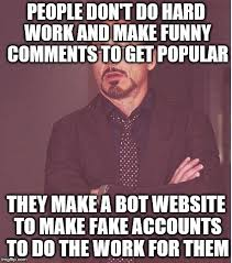 Make A Meme Website - face you make robert downey jr meme imgflip