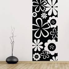 home decor wall art stickers flower scenery background rain of petals wall stickers flower