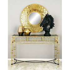 small glass console table small glass console table wayfair