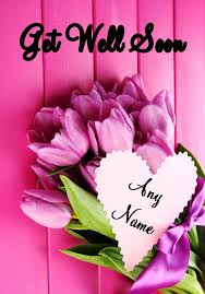 get well soon flowers pink bunch of flowers get well soon card