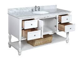 Kitchen Bath Collection Kitchen Bath Collection Kbc227wtcarr Beverly Single Sink Bathroom