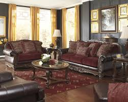 Burgundy Accent Chairs Living Room Burgundy Accent Chair And Sofa For Living Room Apoc By