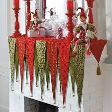 mantel scarf terrific christmas mantel scarves opulent 11 best mantle scarf