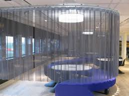 Chain Room Dividers - chain link curtain offers certain decoration protection