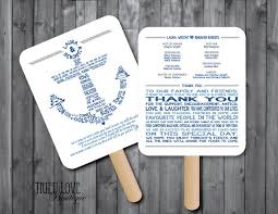 nautical wedding programs printable nautical wedding invitations