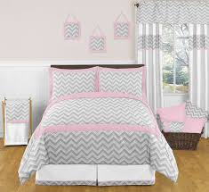 bedroom cute pink color accent mainstays yellow grey chevron bed