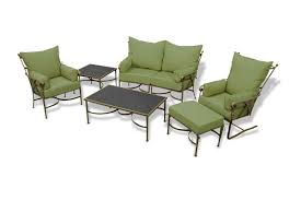 Outdoor Sofa Sets by A Guide To Wrought Iron Patio Furniture Patio Productions