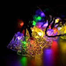 Solar Powered Christmas Tree Lights by Fairy Waterproof 20led Bells Solar Powered Christmas Tree