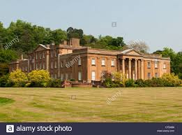 himley hall country house near dudley in the west midlands stock