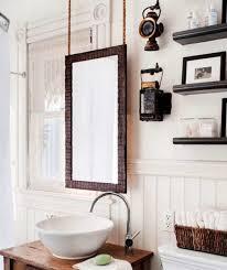 How To Hang Bathroom Mirror Hang Bathroom Mirror Inspiration