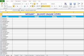 Workout Excel Template Workout Plan Spreadsheet For Excel Excel Tmp