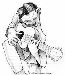 eva cassidy artwork musician sketches 1
