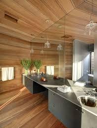 luxury modern bathroom design ideas photo gallery large bathroom with wooden floor and long grey dual vanity set