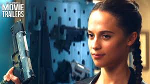 tomb raider alicia vikander suits up as lara croft in first