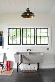 Farmhouse Pendant Lights by Modern Farmhouse Laundry Room Reveal Beneath My Heart