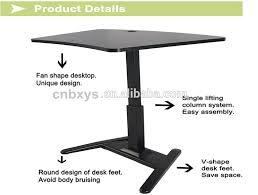 bureau r lable en hauteur ectrique hauteur réglable table avec 1 moteur assis debout poste de travail