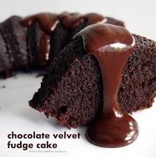 the batter baker chocolate velvet fudge cake