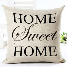 Sofa Pillow Cases Romantic Retro Words Quotes Throw Cushion Cover Pillow Case Home