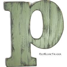 wooden letters p home decor 12 inch large wood letter wall