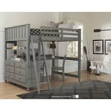 industrial loft bed with rock wall and fireman u0027s pole industrial