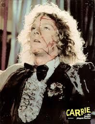 carrie 1976 lobby card carrie horror movie 80s pinterest