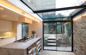 used sliding glass doors minimal windows sliding doors to side infill extension with glass