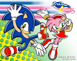 sonic open on thanksgiving sonic and amy by j8d on deviantart
