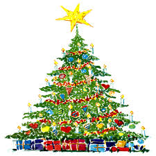 Christmas Tree High Resolution Christmas Tree In Watercolor Hd Wallpapers
