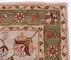 Green And Brown Area Rugs Traditional Heritage Hand Tufted Wool Area Rug Carpet 5x8 Beige