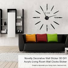 kokobuy wall stickers 3d diy acrylic mirror surface living room