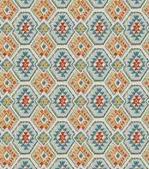 Canvas Upholstery Fabric Outdoor Southwest Fabric Diamond Earth Outdoor Fabric Outdoor Fabric