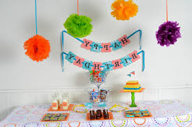 Bday Party Decorations At Home Birthday Decorations To Make At Home Home Design 2017